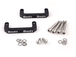 ZX14R Billet Lowering Strap Bracket for Radially Mounted Brake Calipers